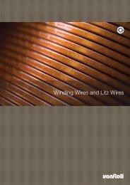 Winding Wires and Litz Wires - Von Roll
