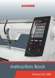 Horizon Memory Craft 12000 - Janome