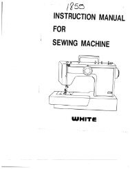 the Bernina Nova Instruction Manual here  - Sewing Machines
