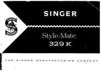 ' Style-Mate _ 329 K - Singer