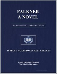 FALKNER; A NOVEL - World eBook Library - World Public Library