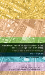 Draft Open Space + Streetscape Master Plan - Visitacion Valley ...
