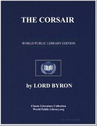 THE CORSAIR - World eBook Library - World Public Library