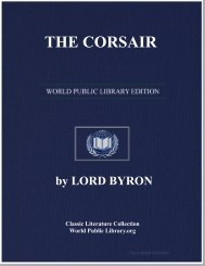 THE CORSAIR - World eBook Library - World Public Library