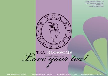 here - Tea Blossoms