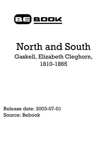 North And South - Gaskell Elizabeth Cleghorn.pdf - Cove Systems