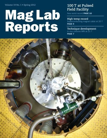 2012 | Volume 19 | Issue 1 - National High Magnetic Field ...