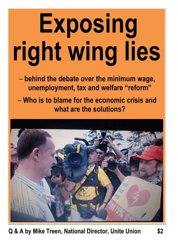 Exposing right wing lies
