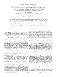 Short-range order and Fe clustering in Mg1 - APS Link Manager ...