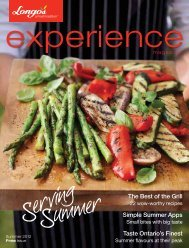 The Best of the Grill Simple Summer Apps Taste ... - Longos.com
