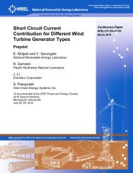 Short Circuit Current Contribution for Different Wind Turbine ... - NREL