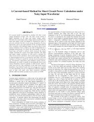 A Current-based Method for Short Circuit Power - University of ...