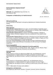 Gebrauchsanleitung - Spiess-Urania