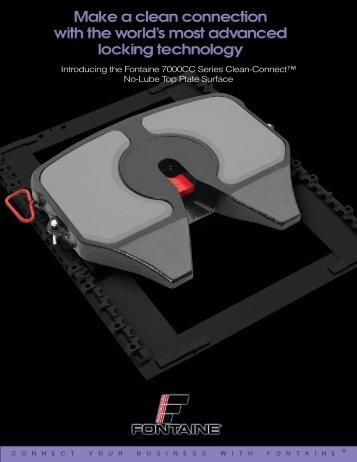 fontaine fifth wheel no slack® coupling procedures 7000cc clean connect fontaine international