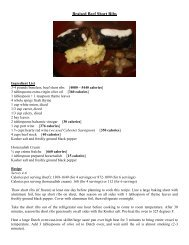 Recipe – Braised Beef Short Ribs