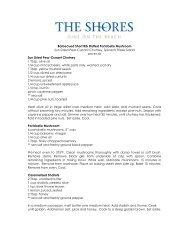 Barbecued Short Rib Stuffed Portobello Mushroom - The Shores ...