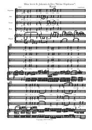 Vocal Score short gloria.cap