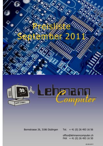 Download this publication as PDF - Lehmann Computer