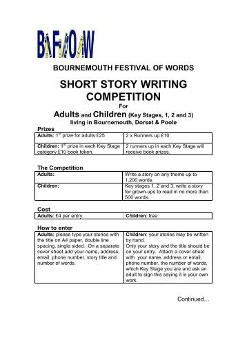 Writing Contests: Facts and Fakes...And How to Tell the Difference