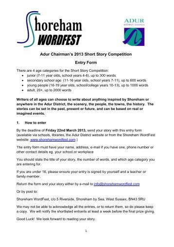 short story writing contests 2013 Welcome to jewishstorywritingcom this is the place to be if you're writing jewish prose or poetry free critique in september submit your children's story for ages 3-7 and get a free critique during the month of september.