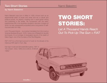 Two Short Stories Nanni Balestrini.pdf - Libcom