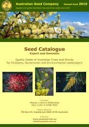Ausseed Catalogue 2010 - Australian Seed Company