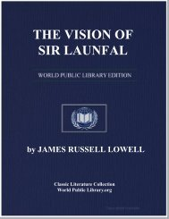 THE VISION OF SIR LAUNFAL - World eBook Library - World Public ...