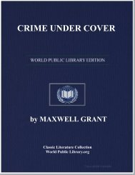 CRIME UNDER COVER - World eBook Library - World Public Library