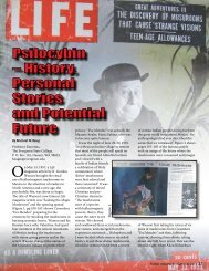 History, Personal Stories and Potential Future - FUNGI Magazine