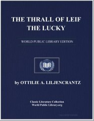 THE THRALL OF LEIF THE LUCKY - World eBook Library - World ...