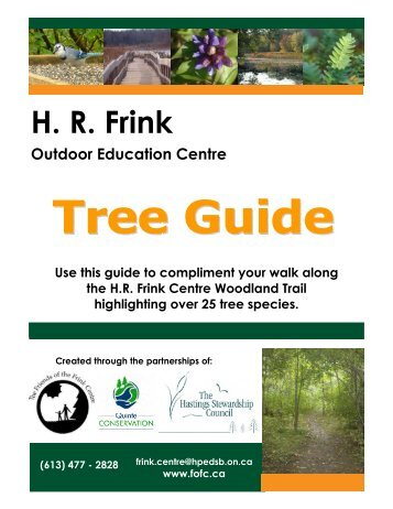 Frink Centre Tree Guide - Quinte Conservation