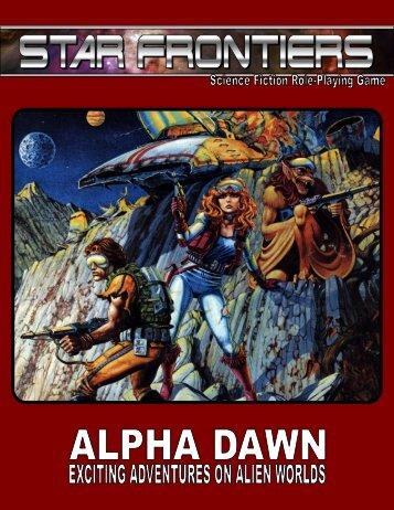 Alpha Dawn - Star Frontiersman