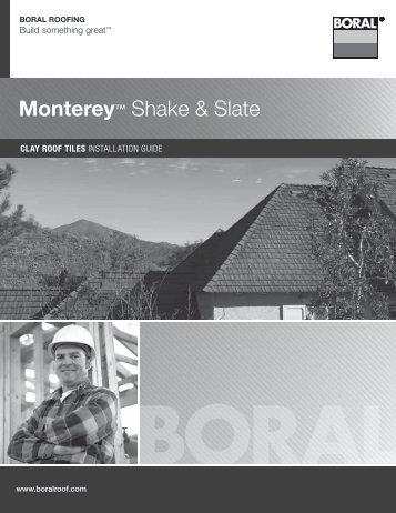 Monterey™ Shake & Slate