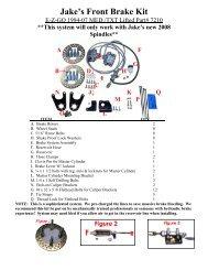 V-Twin 24-0204 Front Brake Tube Crossover Kit