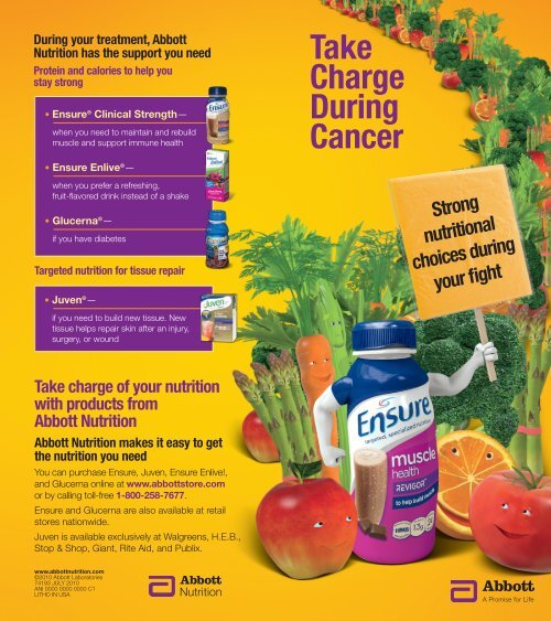 Take Charge During Cancer - Abbott Nutrition