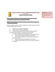 Figurative Language Unit Goal - Bonnie Doerr