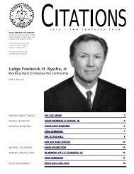 Judge Frederick H. Bysshe, Jr. - Ventura County Bar Association