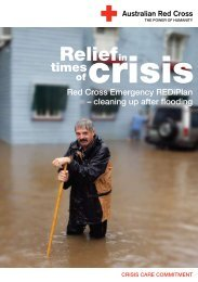 Cleaning up after flooding - Australian Red Cross