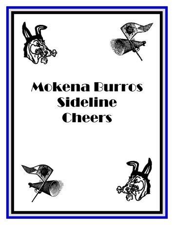 Mokena Burros Sideline Cheers