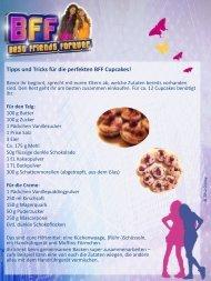 Tipps und Tricks für die perfekten BFF Cupcakes! - Disney