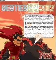 Besties 2012 - Amazon Web Services