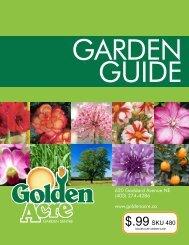 Garden Guide - Golden Acre Garden Sentre