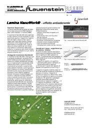 Lamina Nanowork® Nanowork®