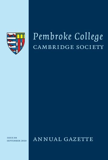Pembroke College - University of Cambridge