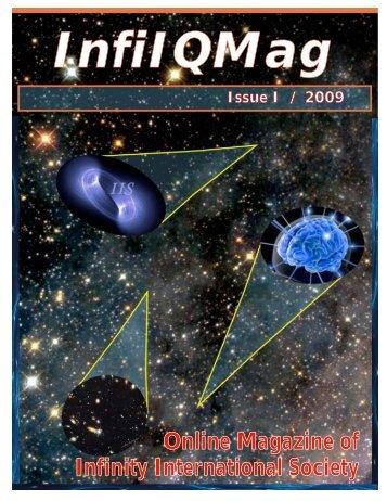 Online Magazine of Infinity International Society - IQ Nexus Website