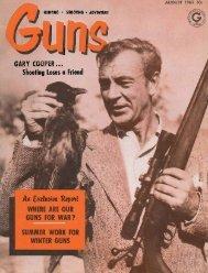 GUNS Magazine August 1961