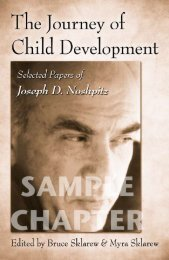The Journey of Child Development: Selected Papers of ... - Routledge