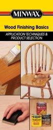 Wood Finishing Basics - Minwax