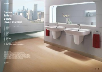 Basins Toilets Bidets Inwall Cisterns - Robertson