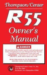 Owner's Owner's Manual Owner's Owner's Manual - Thompson ...